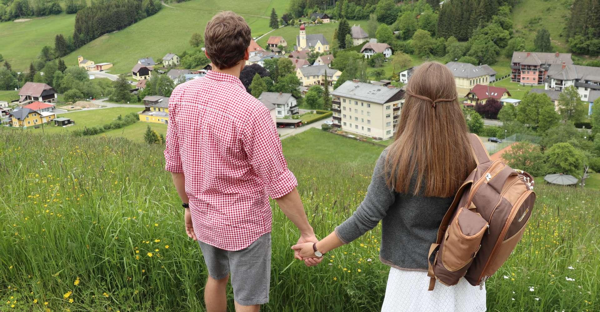 <p>Wir Wirte Wandern im Lobmingtal</p> Copyright:WEGES OG