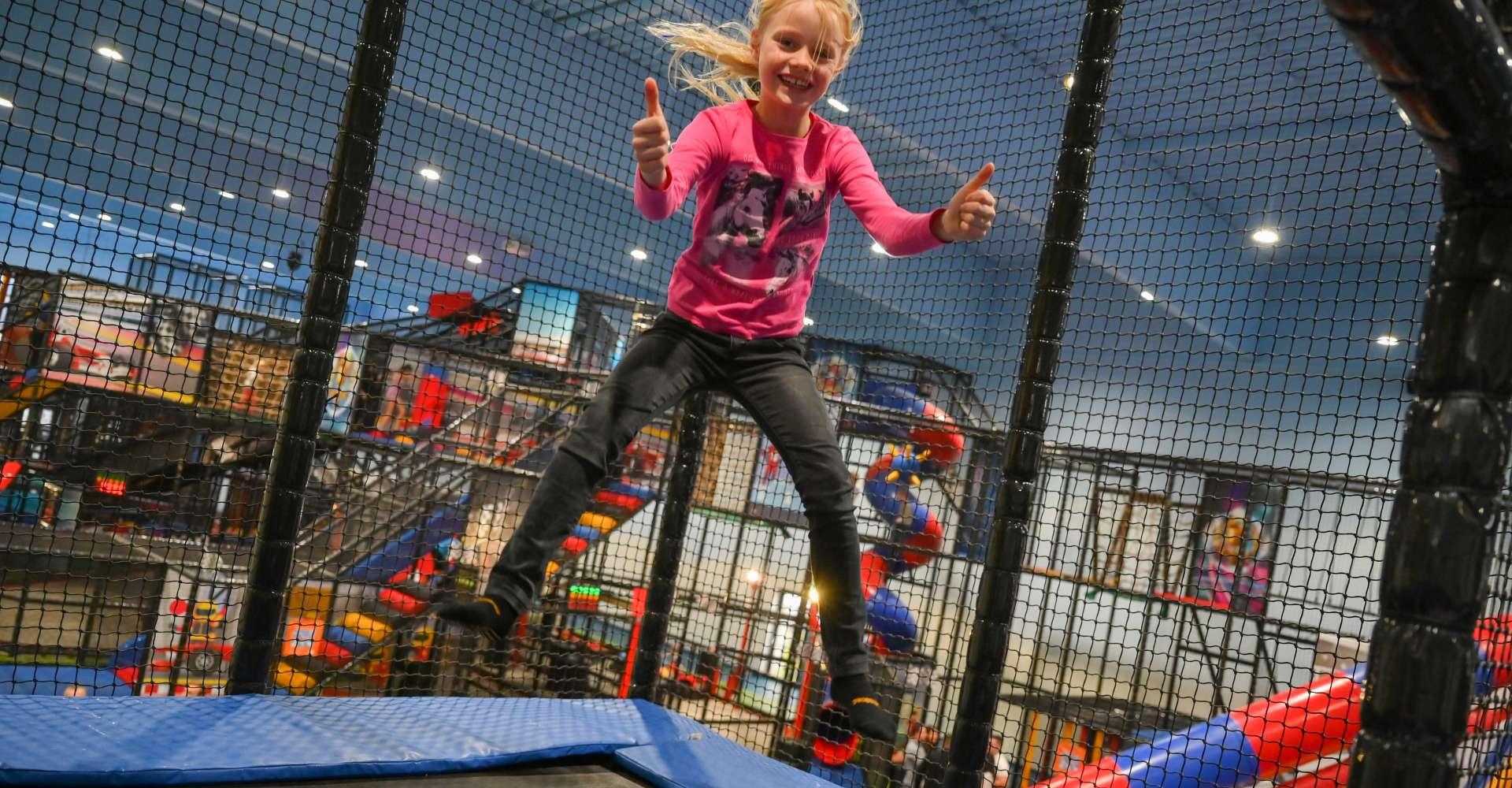 <p>Das macht Spaß, die Kids Area in der Playworld Spielberg.</p> Copyright:
