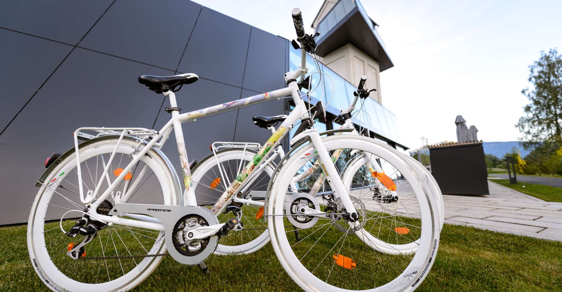 <p>Leihräder Murtal - 1000 Citybikes und Mountainbikes im Red Bull Ring Design stehen bei den Betrieben zur Verfügung.</p> Copyright:
