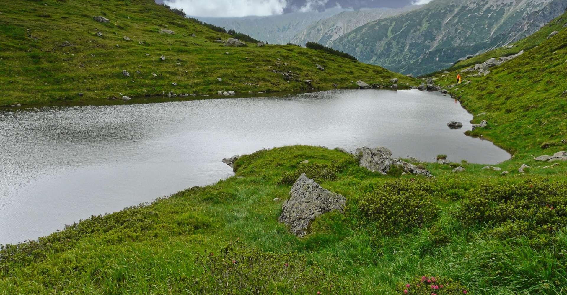 <p>Hahnsee Seckauer Alpen ist wohl einer der schönsten und entlegensten Bergseen im Murtal. </p> Copyright:WEGES OG