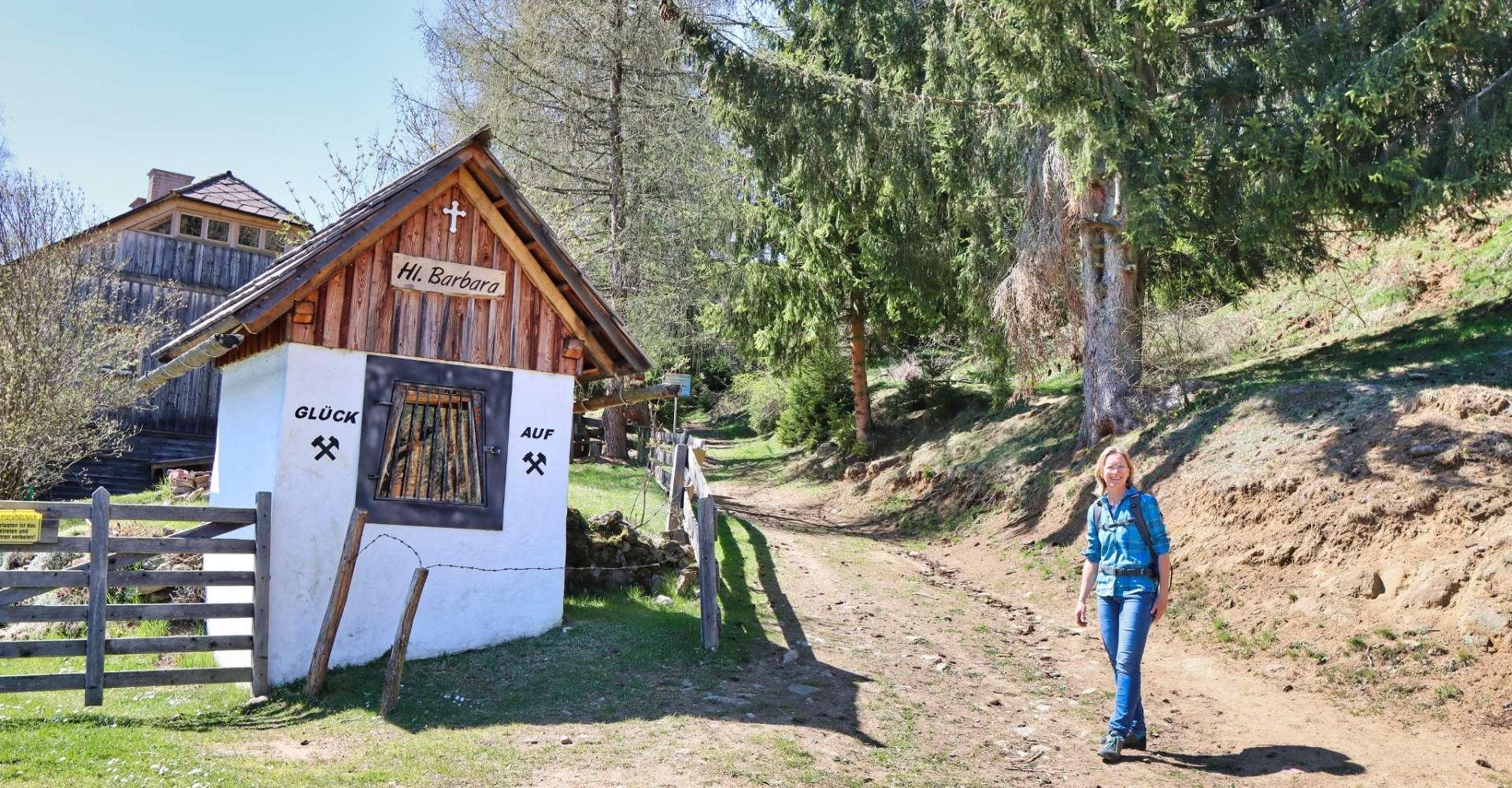 <p>Auf jeden Fall einen Abstecher wert - die Barbarakapelle in Fohnsdorf. </p> Copyright:WEGES OG