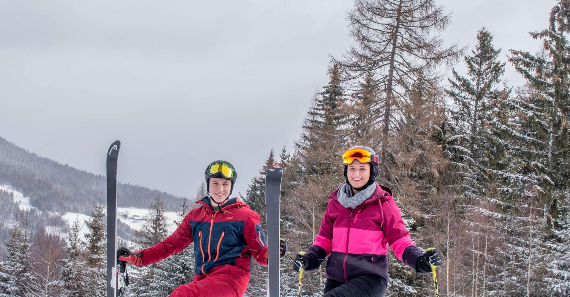 <p>Skifahren in der Region Spielberg. Egal ob in der Gaal oder Kleinlobming, es wird sicher ein Spaß.</p> Copyright: