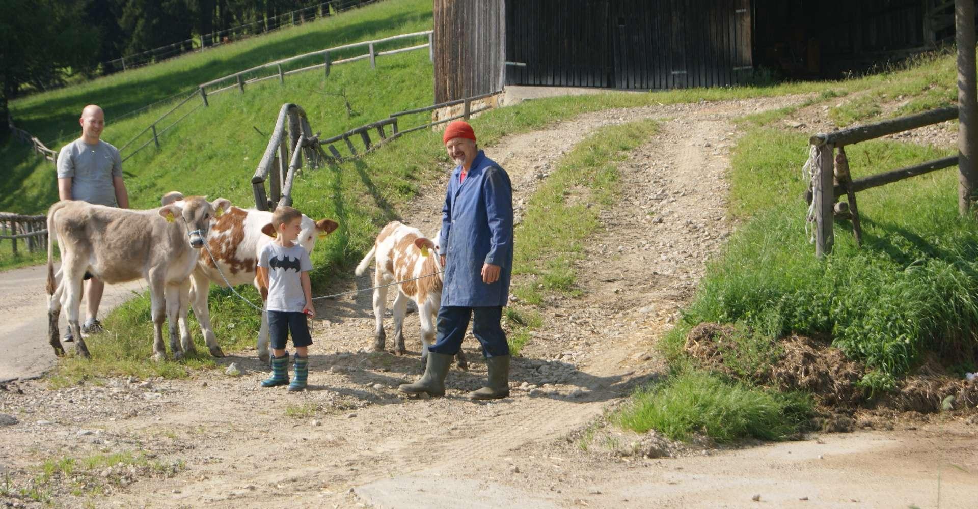 <p>Urlaub am Bauernhof bei der Familie Schindlbacher im Murtal heißt Teil der Familie sein. </p> Copyright:Bauernhof Schindlbacher vlg. Marx