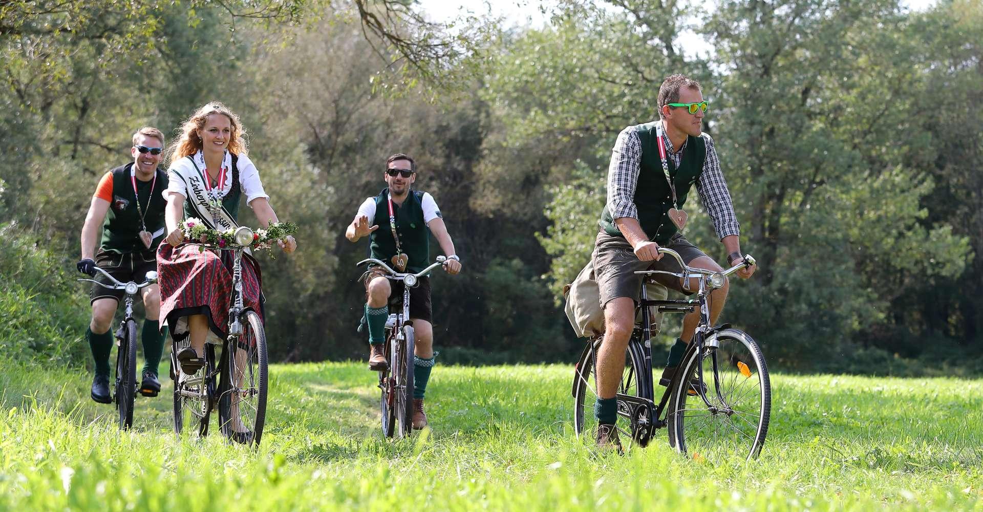 <p>Der Club der Murtaler Waffenradfreunde trifft sich einmal jährlich zu einem großen Waffenradtreffen.</p> Copyright: