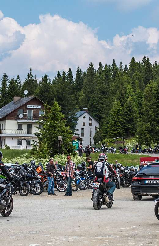 Freiheit am Motorrad heißt:  - ich muss nicht - ich will