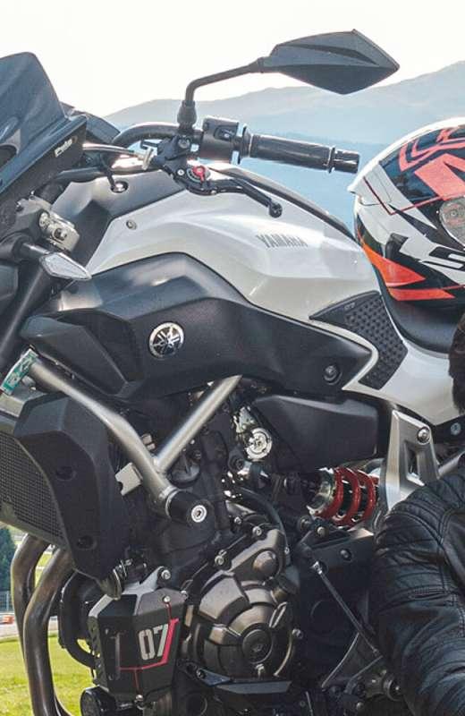 Niemand ist perfekt,  - aber als Motorradfahrer ist man schon ganz nah dran!